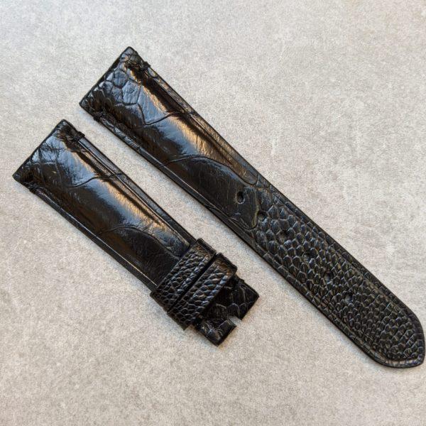 ostrich-shin-black-watch-strap