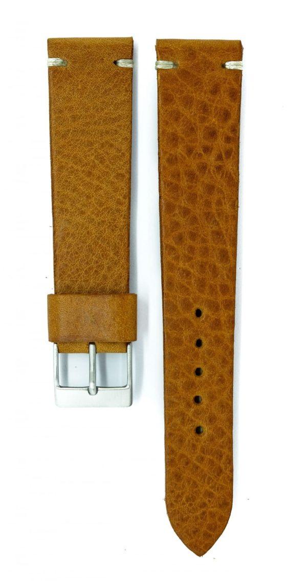 mottled-tan-calfskin-watch-strap