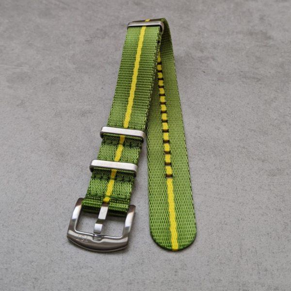 green-yellow-nato-watch-strap