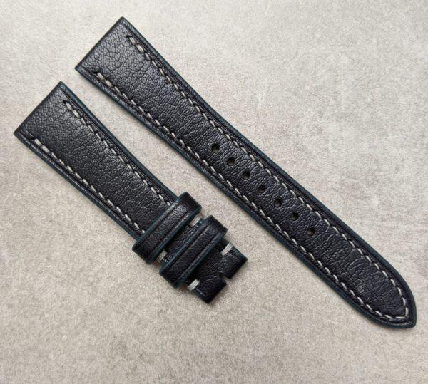 goatskin-watch-strap-blue