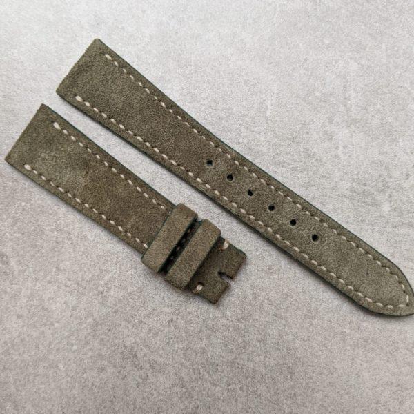 olive-green-suede-watch-strap