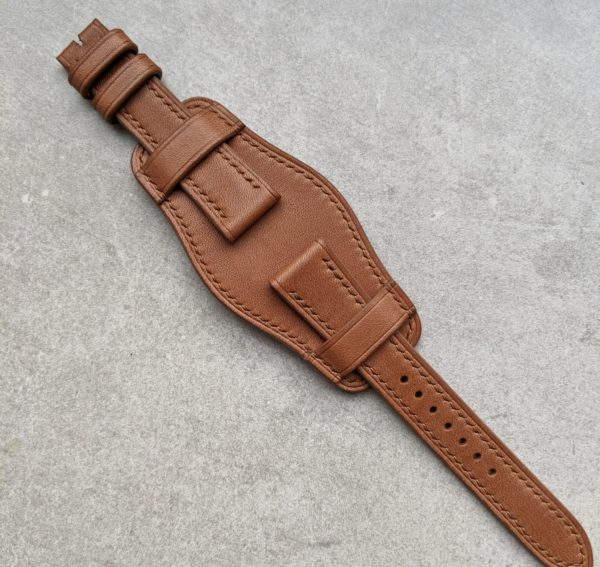bund-watch-strap-chesnut-brown