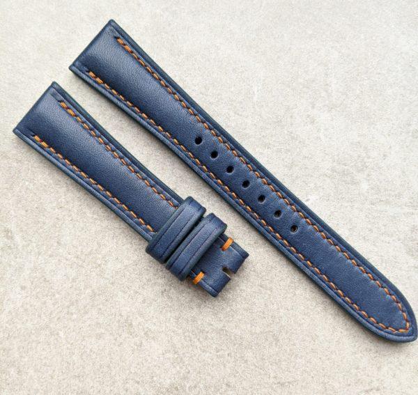 navy-blue-calfskin-orange-stitching-watch-strap