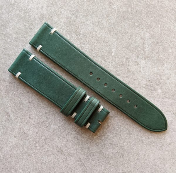 green-leather-watch-strap