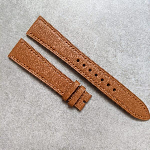 alran-chevre-tan-watch-strap