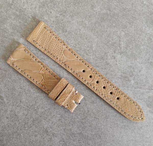 beige-ostrich-watch-strap