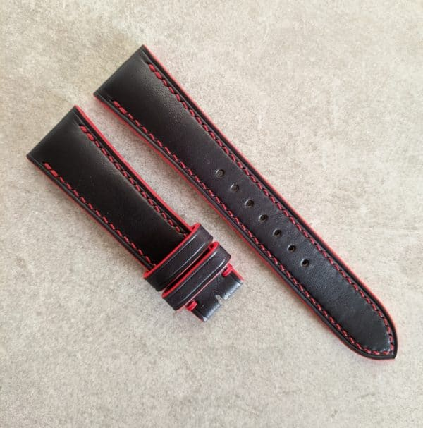 black-red-watch-strap