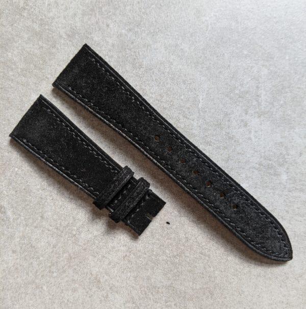 black-suede-watch-strap